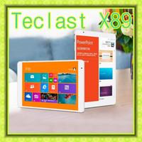 Cheap Teclast X89 Windows 8.1 Intel Bay Trail-T Z3736F Tablet PC 7.9 Inch Quad Core 64bit IPS 2048X1536 Bluetooth 2G RAM 32GB ROM HDMI OTG 2MP+5MP