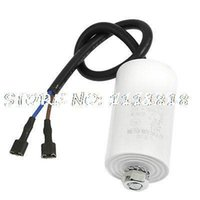 air capacitors - Air Conditioner CBB65A Nonpolar AC V uF Motor Running Capacitor White