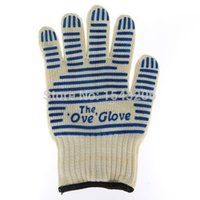 Wholesale Heat Flame Resistant Proof Oven Mitts Glove F Hot Surface Handler Cooking Kitchen Tools Cotton Kitchenware Potholder Gloves