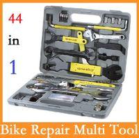 Wholesale High quality Original SAHOO in Bike Bicycle Repairing Tool Set Kit Case Box for Mountain Road Bicycle Via DHL