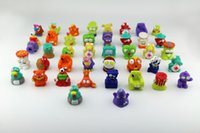 Cheap Newest 30-40 Styles 2.5cm Trash Pack figures toys Garbage Monster Eco-Friendly Rubber Plastic Educational doll V238