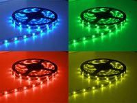 Wholesale RGB led strip rgb no waterproof SMD leds m LEDS Strip M Flexible LED Strip Light Keys IR Remote Controler