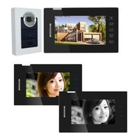 Wholesale Security System Doorbell with IR Night Vision for Villa Home Touch Key Take Photo quot TFT LCD Color Video Door Phone Intercom order lt no tra