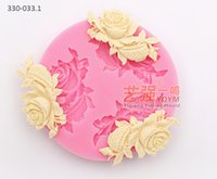 fondant roses - 2015 YQYM New Arrival USA rose cake decorating tools cooking mold siliocne cake mold for fondant UK