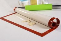 art mats - Stock in USA inch x40cm Non stick Baking Pan Silicone Baking Large Silpat Mat sugar art sheet Cooking Baking Mats Placemat