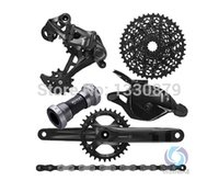 sram - SRAM X1 Groupset Drivetrain Group set S mm crankset Upgrade Mountain bike super light speed suite