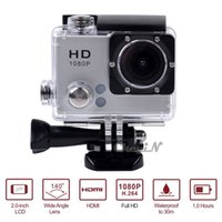 0.19 - 30M Waterproof Extreme Action Camera Diving Mini Camcorder Video Recorder for Helmet Bicycle Wide Angle DVR43 order lt no tracking