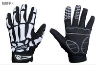 anti vibration gloves - Sport Glove Outdoor Motorcycle Glove Breathable Anti slipery Anti Vibration Anti impact Glove Glove Mesh Back Synthetic Leather