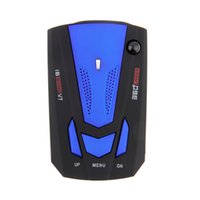 Wholesale 2015 New High Quality English Voice Degree Anti Police Radar Detector V7 For Car Speed Limited GPS Radar Detector