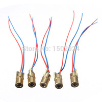 Wholesale High Quality nm mW Laser Red Dot Module Red Copper Head Red Laser Diode Pointer Sight