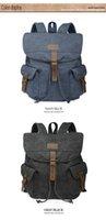 Wholesale Leisure Sport Outdoors Canvas Fashion School Canvas Shoulder Bag Good Quality School Bag Fashion Good Style On Sale