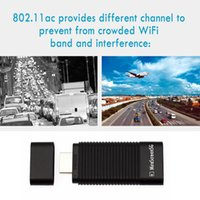 audio receiver hdmi - MiraScreen G WiFi Display Receiver P Audio Video DLNA Airplay Miracast Display Dongle for Phone Notebook PC to HDTV Monitor DHL V1740
