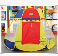 yurts - New Arrival Childern Light Yellow Yurts ELEGANT children tent is m Pop Up House Kids Play Game Kids Tent Toy Free Shippig