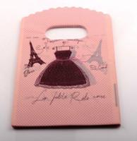 jewelry paris - Hotl Jewelry Pouch Paris Eiffel Tower Plastic Bags Jewelry Gift Bag x15cm