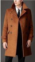 alpaca winter coats - Fall Alpaca Fabrics New Winter Men Men s Fashion And Comfortable Classic Woolen Coat