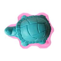 Wholesale DIY Sea turtle Shape Hands Shape D Silicone Cake Mold Cartoon Figre cake tools Soap Mold Cake Decoration M