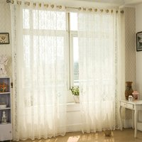 Wholesale Factory direct high end European and American decorative jacquard living room bedroom breathable translucent curtains can be cus