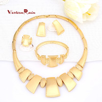 asian blossoms - WesternRain New Bohemian Necklace Earrings Set for Women Flower Fashion Jewelry K Gold Platinum Plated Blossom High Quality A410