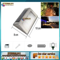 Wholesale 3W Wall Light Outdoor Recessed Wall Lights Embedded Footlights Led Stair Lamp V V waterproof Outdoor Path Stair Light Landscape Light