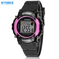 bi watches - SYNOKE Sports Digital Watches Synoke Authentic Fashion Refined Atmosphere Bi Boys Outdoor Sports Waterproof Watch Relógio Masculino Ar Watch