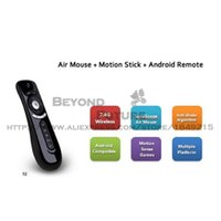 Wholesale Gyroscope Mini Fly Mouse G Wireless D Remote Sensing Top Quality Air Mouse T2