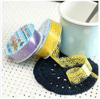 Wholesale DIY photo album accessories creative lace openwork lace tape sticker tape