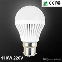 Wholesale Top Quality LED Light Bulb W W W W W LED Bulbs Lighting Home Light Spotlight Christmas Headlight Lamp B22 E27 V V