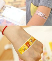 Wholesale Wound Of Stickers Cute Cartoon Type Bandage Color Assorted Waterproof Sports Fitness Medical Bag First Aid Kit