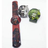 Precio de Gifts-Pops dibujos animados 200pcs ver Star Wars reloj Starwars Slap pulsera venta de regalos electrónicos Slap Snap para niños de silicona reloj de cuarzo