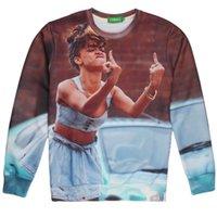 Cheap 2014 Autumn Hoodie Coat Free Shipping Fuck You 3D Funny Print Men's Hoodies & Sweatshirts Casual Sportswear Plus Size MH7510