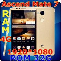 Wholesale New China Copy unlocked phone Huawei Ascend Mate Phone Octa Core Android cellphone GB RAM GB ROM with gifts