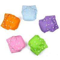Fraldas lavável para Crianças impermeável ajustável bebê de fraldas de pano reutilizáveis Fraldas descartáveis one piece