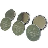 Wholesale Authentic coin battery V Lithium CR2032 CR CR2016 CR2025 High quality Cell Button Coin Battery Retail packing