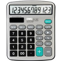 Wholesale 15 cm General calculator coin batteries or solar dual power large screen display calculator and retail