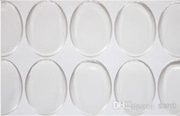 art ellipse - 2000 clear mm oval epoxy sticker inch D crystal Bottle caps ellipse sticker