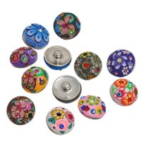 Wholesale NOOSA Amsterdam mm fashion noosa Interchangeable Snap Buttons DIY Jewelry Accessory Ginger Snap Jewelry