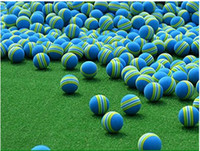 Wholesale Urparcel Golf Swing Training Aids Indoor Practice Sponge Foam Balls