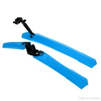 Wholesale Hot Sale MTB Bicycle Front Rear Mudguard Bicycle ABS Fender Removable Parts Bike Accessory Set Lightweight and Easy to Install Y1102