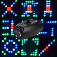 mini disco - MINI Disco led active Club Party laser Projector RGBW W LED Stage Effect Light DJ beam Lighting for DJ KTV