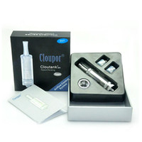 Cheap Cloutank M4 Dry Herb & Wax 2 in 1tankizer for Ego 510 thread vs Cloupor cloutank M1 M2 M3 herbal vaporizers pen