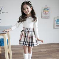 winter long sleeves dress - Girls Childrens Tutu Cotton Dress Long Sleeve Fashion New Autumn Winter Party Kids Princess Dresses ZZ