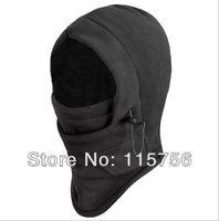 Wholesale Warm Fleece Solid Color Winter Masks Ski Mask Hat Protected Ear Beanies ski Skull Snowboard Cap MA55366