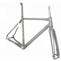 Wholesale Popular Bicycle Frames High Quality Black Color Carbon Fiber Bike Frames Best Road Bike Frames Outdoor Products CX