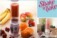 Wholesale by DHL MINI Juicer Pocket Juicer Shake N Take sets