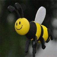 antenna toppers - New Style Hot Sale Cute Lovely Bee Antenna Topper For Car Decoration Interior Accessories Ornaments