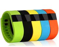 Bon Marché Bande de remise en forme intelligente-Bracelet sport TW64 Smartband intelligente bracelet Fitness Tracker Bluetooth 4.0 Fitbit fléchir Montre xiaomi mi bande 2015 Date