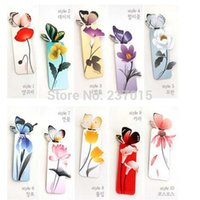 Wholesale 20pcs Butterfly bookmark Gift Memo Note Marker Creative Clip Gift Style Paper Cartoon