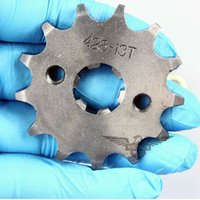 Wholesale 2015 Hot Sale Motorcycle ATV Dirtbike Front Sprocket T mm Size Teeth Drop Shipping