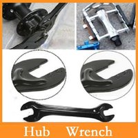 bicycle hub cone - High quality Cycling Repairing Tool Bike Bicycle Head Open End Axle Hub Cone Wrench Spanner Portable Steel mm Dropshipping