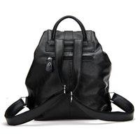 baguette roll - uggage Bags Backpacks New Popular Casual Genuine Leather Women s Backpack Girl s Knapsack Ladies Rucksack Blanket Roll Puck
